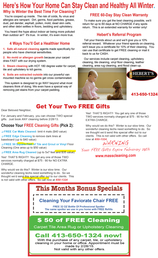 winter carpet cleaning Specials Springfield Ma