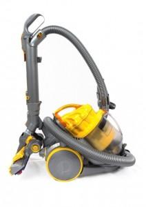 yellow vacuum