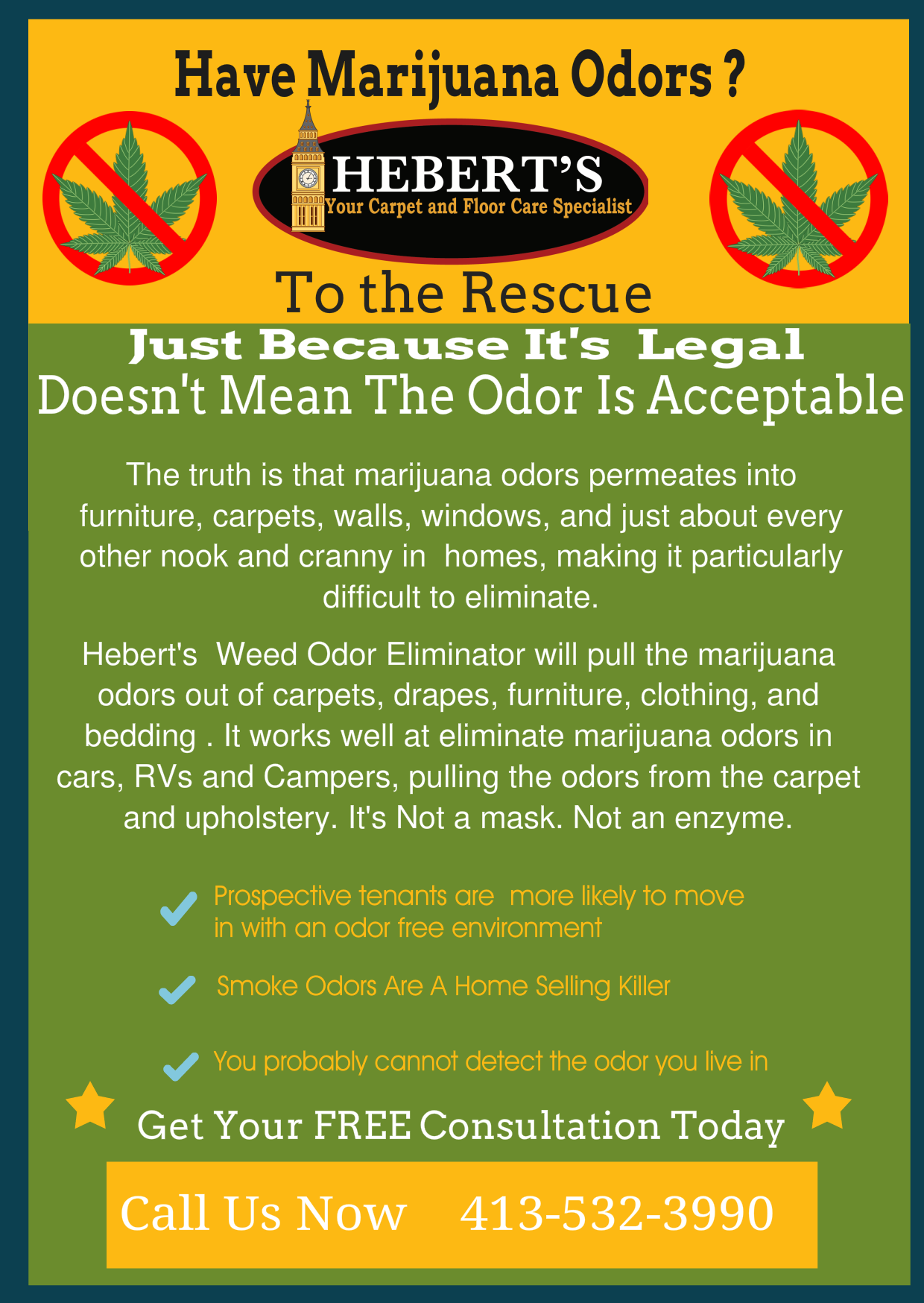 marijuana odor removal
